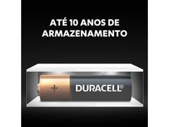 Pilha Alcalina AA Pequena Duracell com 16 Unidades - 4