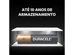 Pilha Alcalina AAA Palito Duracell com 4 Unidades - 4