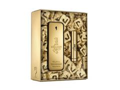 Kit Perfume 1 Million Paco Rabanne Xmas Collector Masc EDT 100ml +Mini - 1