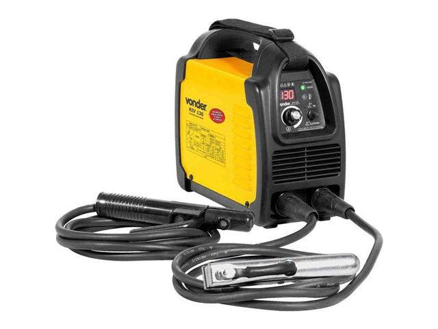 Inversor para Solda Elétrica Vonder RIV136 com Display Digital Bivolt