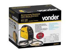 Inversor para Solda Elétrica Vonder RIV166 com Display Digital Bivolt - 3