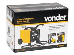 Transformador para Solda Elétrica Vonder TT-2500 Monofásico Bivolt - 3