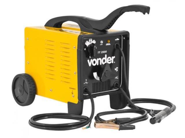 Transformador para Solda Elétrica Vonder TT-2500 Monofásico Bivolt