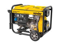 Gerador de Energia Vonder GDV 5500 à Diesel - 0