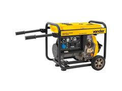 Gerador de Energia Vonder GDV 5500 à Diesel - 1