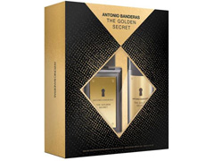 Kit Perfume Antonio Banderas The Golden Secret Masc EDT 100ml + Deo - 1