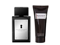 Kit Perfume Antonio Banderas The Secret Masc EDT 100ml + Pós Barba