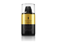 Body Spray Antonio Banderas The Golden Secret Masculino 250ml - 0