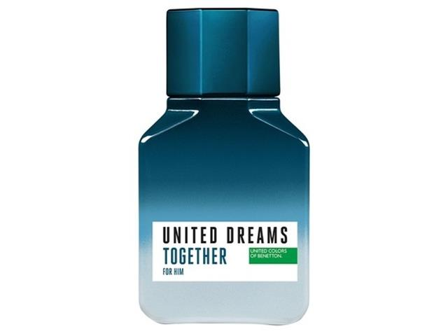Perfume Benetton United Dreams Together for Him Masculino EDT 60ml