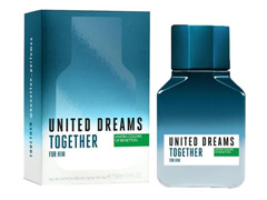 Perfume Benetton United Dreams Together for Him Masculino EDT 100ml - 1