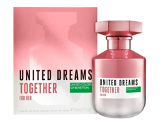 Perfume Benetton United Dreams Together for Her Feminino EDT 80ml - 2