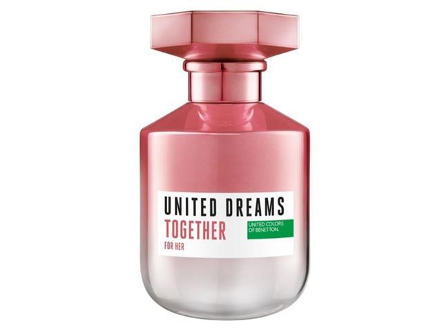 Perfume Benetton United Dreams Together for Her Feminino EDT 80ml