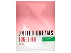 Perfume Benetton United Dreams Together for Her Feminino EDT 80ml - 3