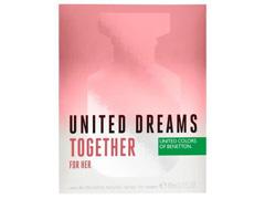 Perfume Benetton United Dreams Together for Her Feminino EDT 80ml - 3