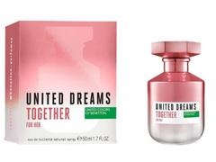 Perfume Benetton United Dreams Together for Her Feminino EDT 50ml - 2