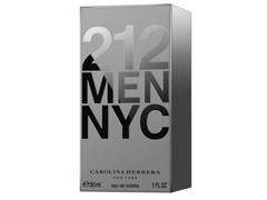 Perfume 212 Carolina Herrera Masculino Eau de Toilette 30ml - 1