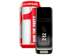 Perfume 212 Vip Black Carolina Herrena Collector Masculino EDP 100ml