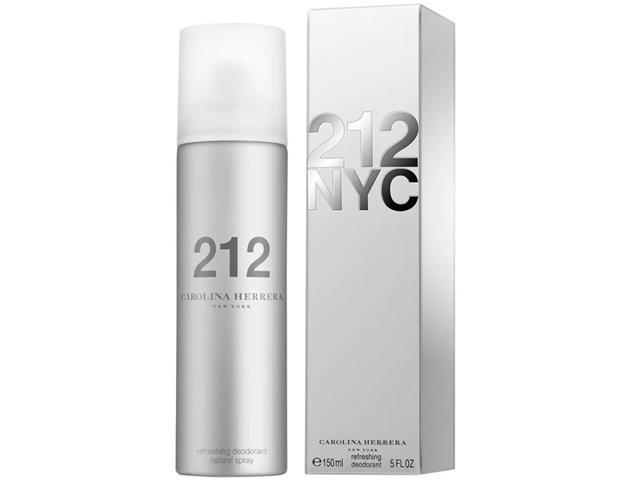 Desodorante 212 Carolina Herrera Masculino 150ml