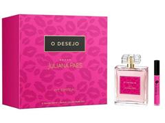 Kit Perfume O Desejo Juliana Paes Feminino EDT 100ml + Batom Líquido