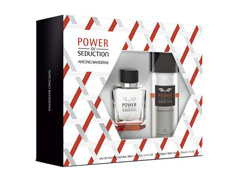Kit Perfume Antonio Banderas Power of Seduction Masc EDT 100ml + Deo