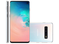Smartphone Samsung Galaxy S10 128GB Branco + Bateria Externa 10000mAh - 1