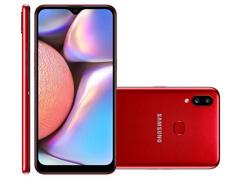 """Smartphone Samsung Galaxy A10s 32GB Duos 4G Tela 6.2"""" 13+2MP Vermelho - 0"""