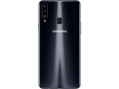 "Smartphone Samsung Galaxy A20s 32GB 4G Tela 6.5"" Câm 13+5+8MP Preto - 2"
