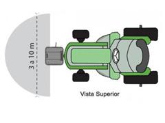 Semeadora Adubadora Ikeda MS40 CR para Trator 40 Litros - 1