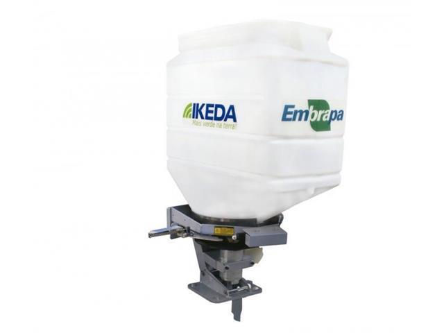 Semeadora Adubadora Ikeda MS100 CR para Trator 100 Litros