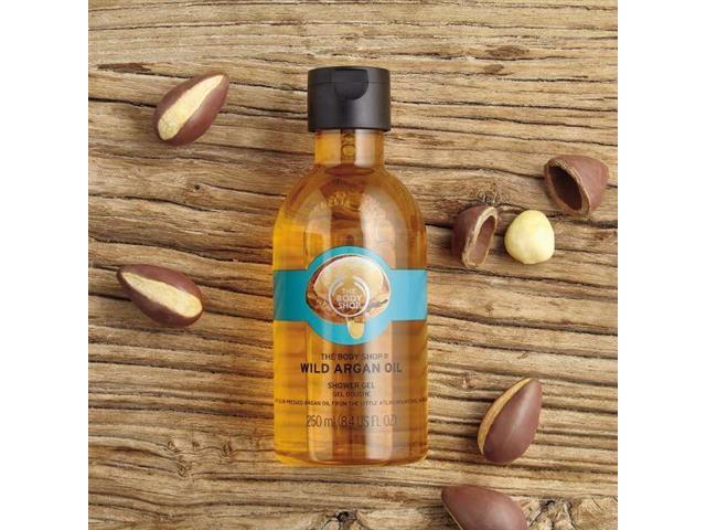 Gel de Limpeza The Body Shop Argan 250ML
