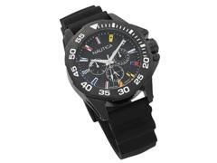 Relógio Nautica Masculino Borracha Preta NAPMIA001 - 1