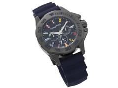 Relógio Nautica Masculino Borracha Azul NAPMIA004 - 1
