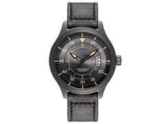 Relógio Nautica Masculino Couro Preto NAPPLP905
