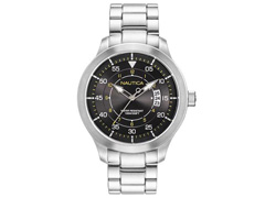 Relógio Nautica Masculino Aço NAPPLP907