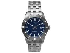 Relógio Akium Masculino Aço Cinza G7093 SS VD53 GREY
