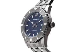 Relógio Akium Masculino Aço Cinza G7093 SS VD53 GREY - 1