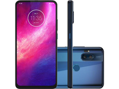 "Smartphone Motorola One Hyper 128GB 6.5"" Câm 64+8MP e Selfie 32MP Azul"