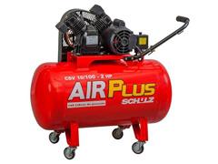 Compressor Schulz AirPlus 10/100L 2HP 140PSI Monofásico com Rodas
