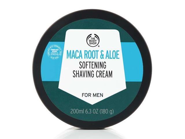 Creme de Barbear The Body Shop Maca Root e Aloe Vera 200ML