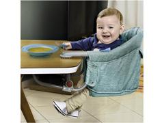 Cadeira de Alimentação Multikids Baby ClickNClip Encaixe de Mesa Azul - 3