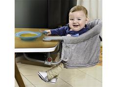 Cadeira de Alimentação Multikids Baby ClickNClip Encaixe de Mesa Cinza - 2