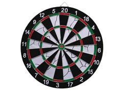 Jogo de Dardos com Alvo Multilaser 42cm de Diâmetro + 6 Dardos - 1