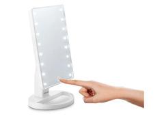 Espelho de MesaLED Multilaser á Pilhas HC174 Branco - 2