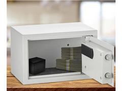 Cofre Eletrônico Multilaser 20 x 31 x 20cm OF008 Branco - 3