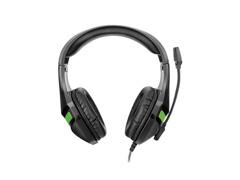 Headset Gamer Warrior Multilaser Harve Stereo PH298 Preto e Verde - 3
