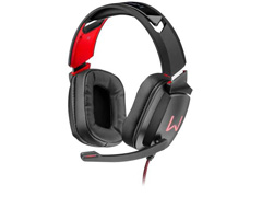 Headset Gamer Warrior Multilaser Kaden USB 2.0 Stereo LED RGB PH301
