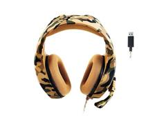 Headset Gamer Warrior Multilaser USB 2.0 Stereo Army LED PH305 Branco - 4
