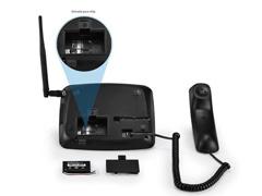 Telefone Celular Rural de Mesa Multilaser Quadriband 2G Dual Sim - 3