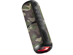 Caixa de Som Portátil Pulse Wave 2 Bluetooth SP354 Camuflada