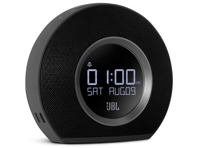 Caixa de Som Bluetooth JBL Horizon com Rádio Relógio Preto